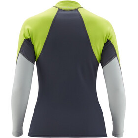 NRS HydroSkin 0.5 Long Sleeve Shirt Women dark shadow